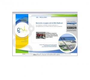 sitio GNL Mejillones. Empresa Gas Natural Mejillones