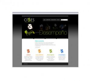 sitio realizado para Consultora Ciges - Innovación en Gestión