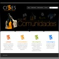 web home Ciges - Comunidades